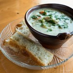 fish chowder from angry trout