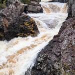 the cascades at cascade river state park