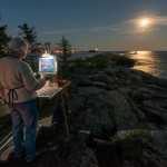 painting by moonlight