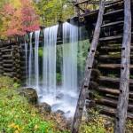 Mingus mill waterfall