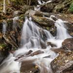 waterfall in the smokies