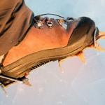 Petzl Sarken on boots