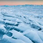 ice on lake superior