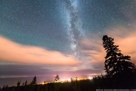 Milky Way over Grand Marais