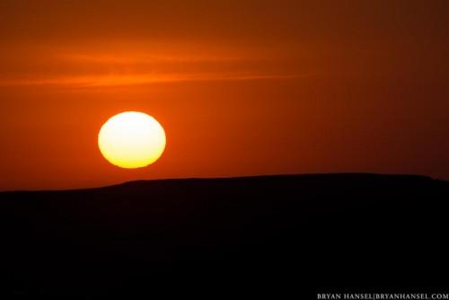 sunrise north dakota badlands