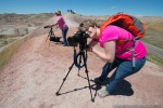 photography workshop in badlands
