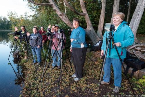 photography workshop students