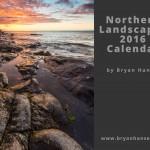 Bryan Hansel's 2016 calendar