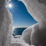 Ice Cave on Lake Superior