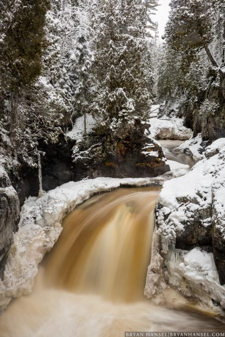 Winter turns to spring at Cascade River