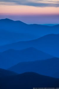 the layers mountains of the smokies