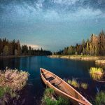 northstar canoe and the Milky Way