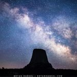 Devil's Tower and the Milky Way