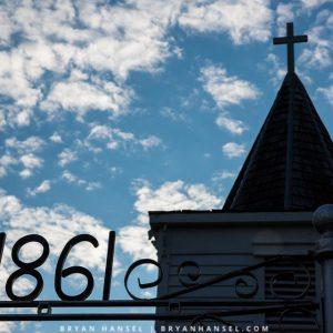 1861 church in iowa
