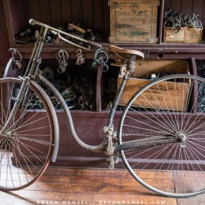 early antique bike