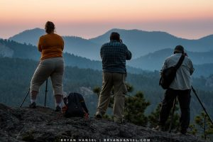 photographers on a Black Hills photo workshop