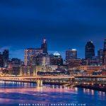 Twilight in St. Paul