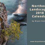 northern landscape calendar cover