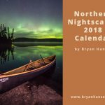 northern nightscapes 2018 calendar